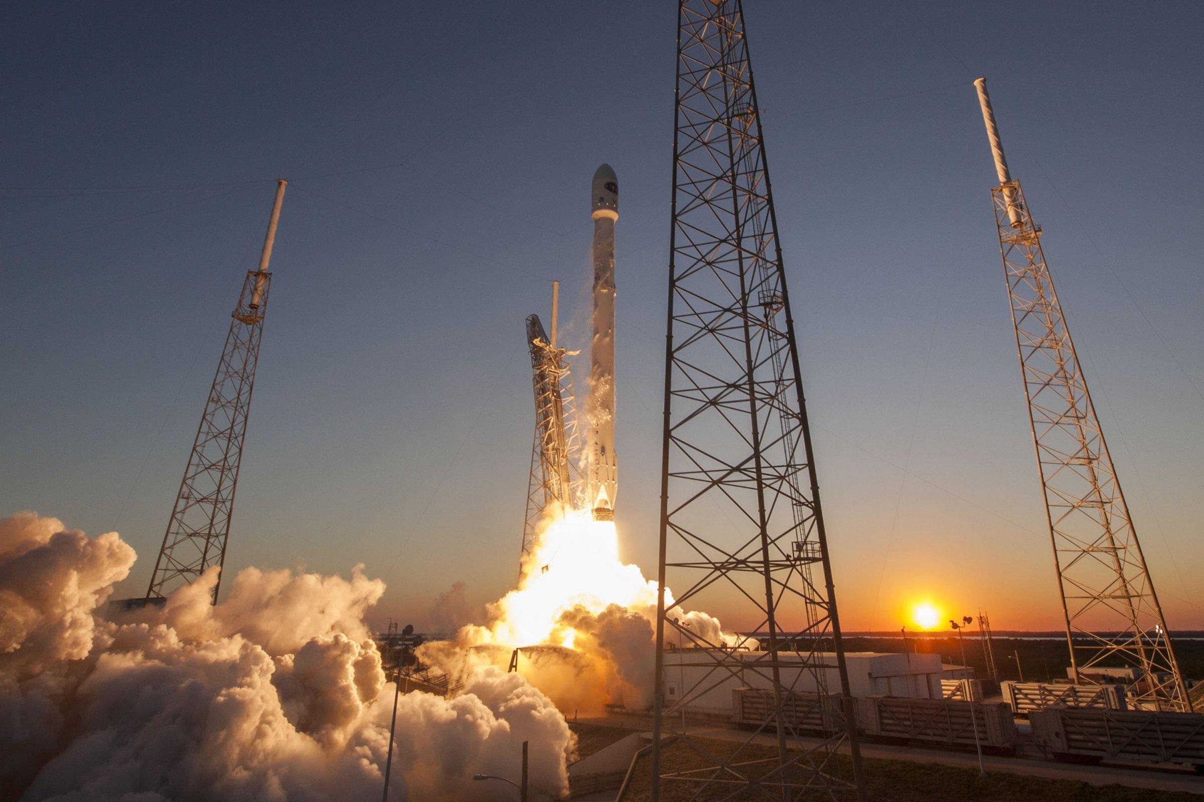 lançamento na spacex