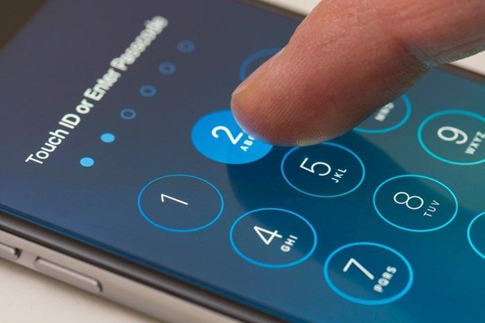 iPhone ecrã de bloqueio