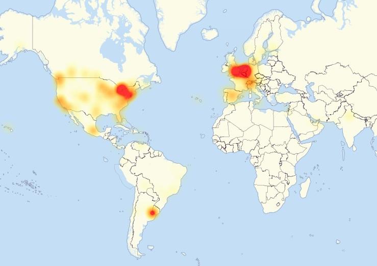 mapa da falha
