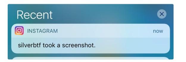 exemplo de notificação