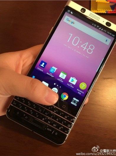 imagem do equipamento da blackberry