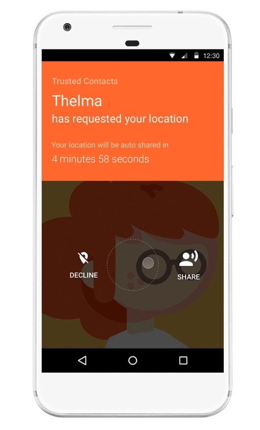 exemplo de localização na app