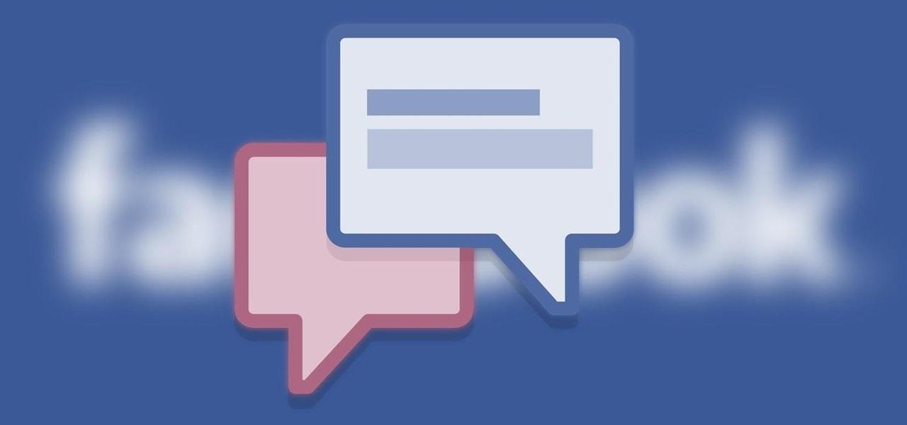 facebook mensagens
