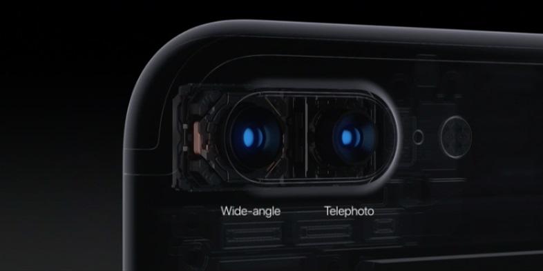 câmera do iPhone 7