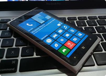 Smartphone com Windows Phone