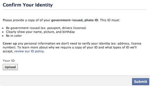 Instagram e Facebook pedem documentos