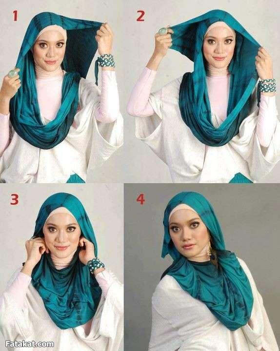 تعليم ربطات الحجاب 13429887976251