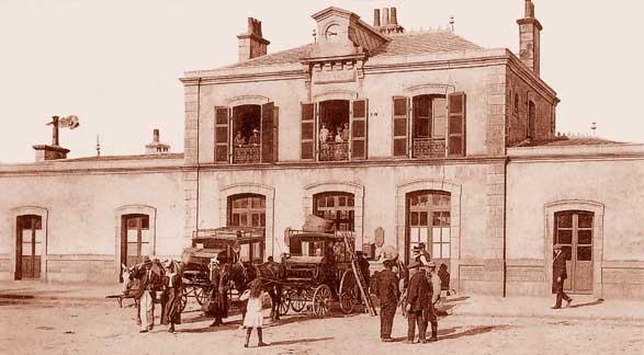 "DOSSIER ""LIGNE DE ROSPORDEN A CONCARNEAU"" Gare-de-concarneau-1"