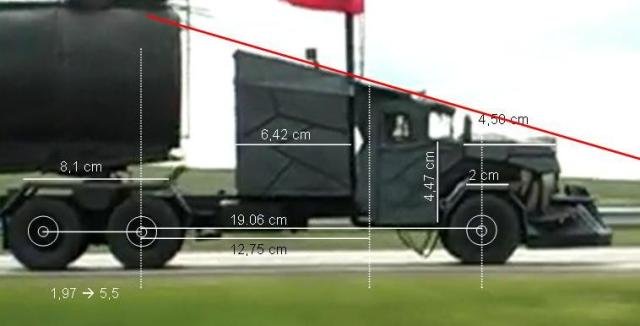 Wolf truck sur base de Diamond Reo AMT au 1/25 - Page 4 Profilcote