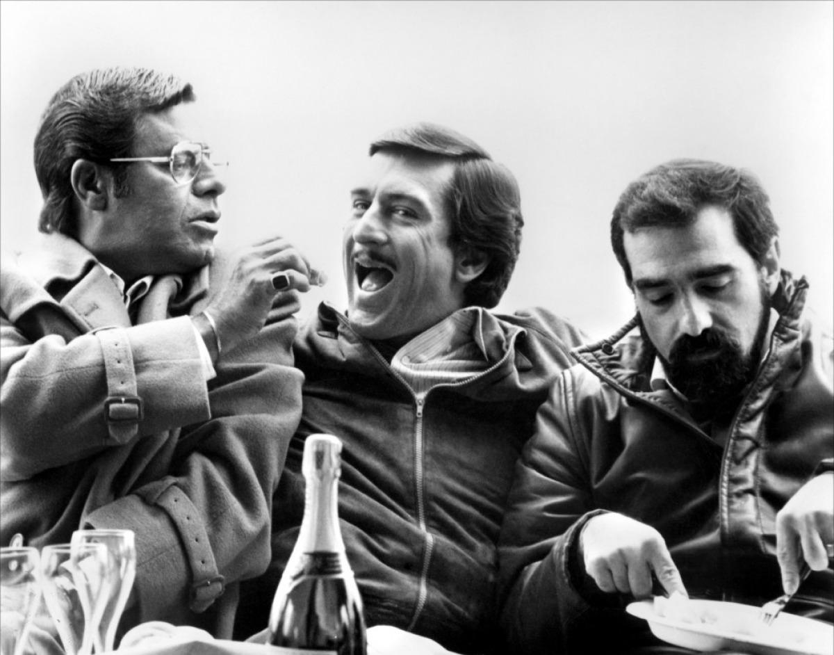 Robert de Niro Jerry-Lewis-Robert-De-Niro-and-Martin-Scorsese-on-set-of-The-King-of-Comedy
