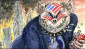 Питер Мейер – Контроль глубинного государства подходит к концу Crooked-banks-300x172