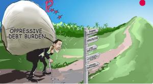 Питер Мейер - Угроза экспоненциального возрастания задолженности 26/3/19 Growing-Debt-Burden-300x165