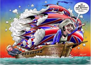 Питер Мейер - Брексит разрывает ЕС на части 4/6/2019 Brexi-tbreaks-EU-300x213