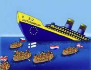 Питер Мейер - Брексит разрывает ЕС на части 4/6/2019 EU-Breaking-300x230