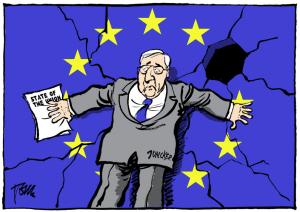 Питер Мейер - Решимость правительства - это разрушение общества  27 ноября 2019 года EU-clown-300x212