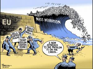 Питер Мейер - Кризис с мигрантами Mass-immigration-300x222