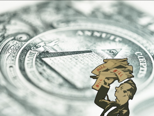 Питер Мейер  - Саморазрушение центробанков Debt-Money-300x226