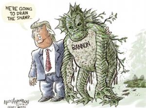 Питер Мейер - Менялы Draining-the-swamp-300x223