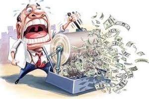 Питер Мейер - Менялы Money-printing-press-300x200