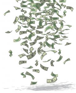 Питер Мейер - Реальные деньги против криптовалют и фиатных денег Money-shower-246x300
