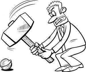 Питер Мейер - Реальные деньги против криптовалют и фиатных денег Proverbial-hammer-300x253