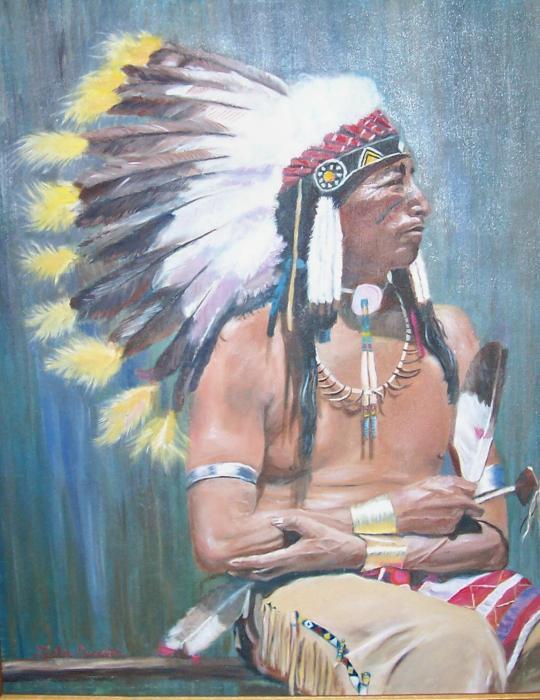 Indijanci na fotografiji i slici - Page 2 Native-american-leslie-duncan