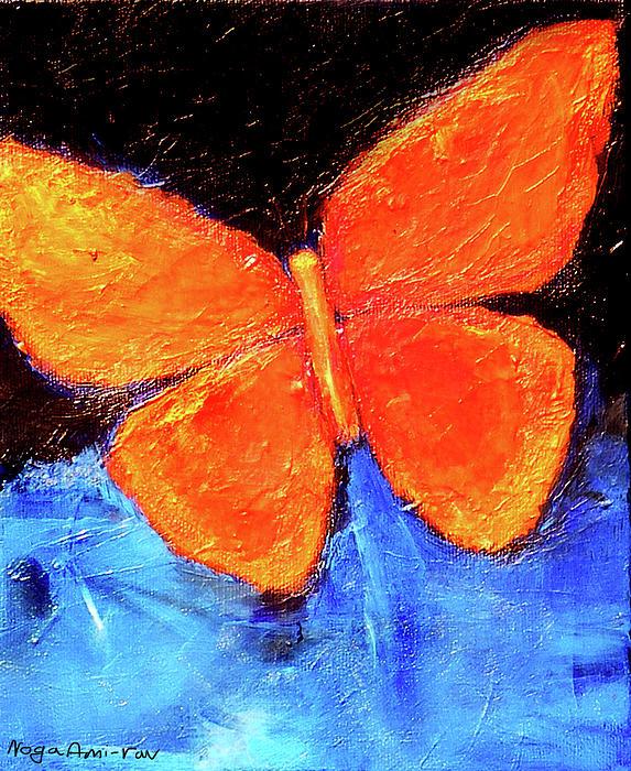 volim narančasto - Page 2 Orange-butterfly-noga-ami-rav