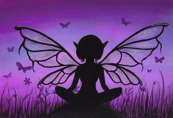 Fantasy fairy Peaceful-meadows-elaina-wagner