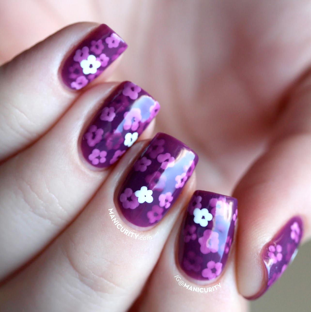 purple nail polish Floral-purple-pond-manicure-deborah-lippmann-call-me-irresponsible-2