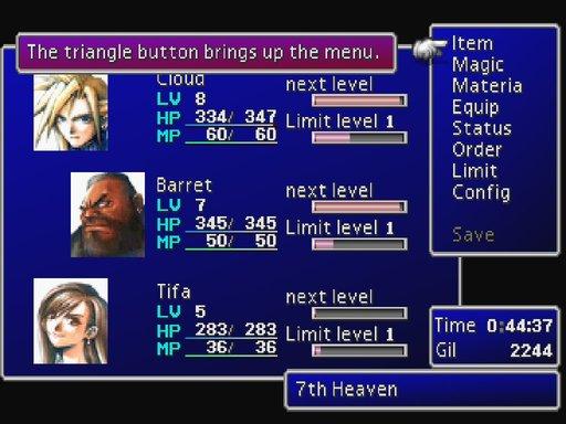 [MV] Portage de mes GUIs Final-fantasy-7-menu-screen-cloud-barret-tifa