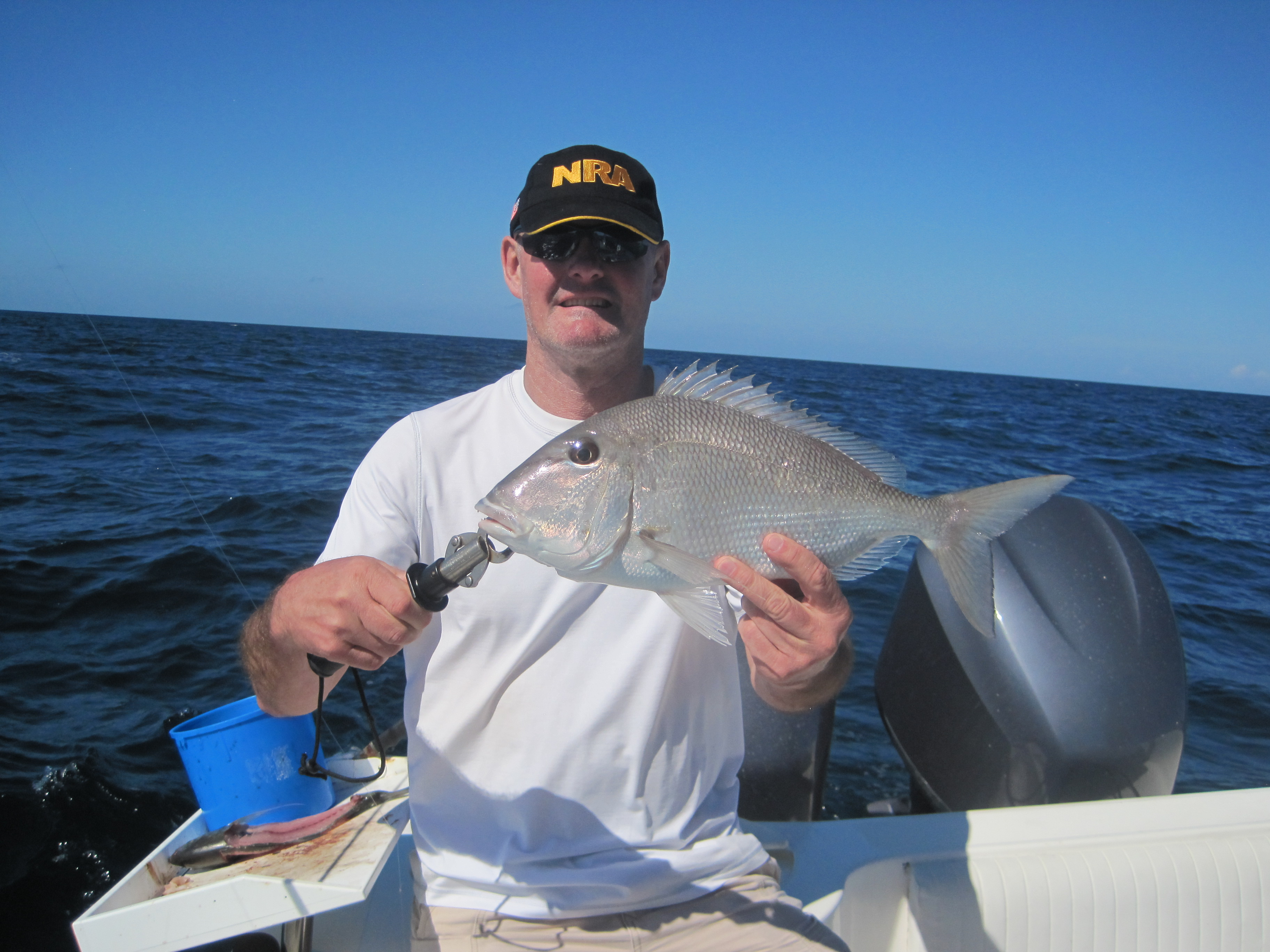 SWFL-Bonita Beach: Fishing improving offshore & inshore, now that red tide is history ResizedBarryCermak20Porgy