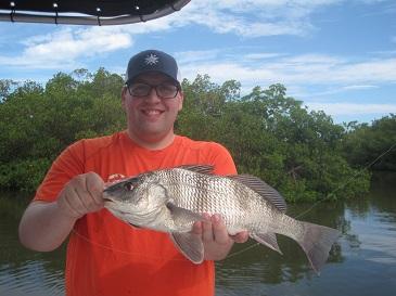 SW FL-Bonita beach: Lots of rain, but fishing good when you ResizedTristenThompson19Drum