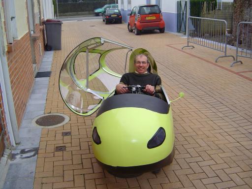 Vélo et autres véhicules à propulsion humaine 2005-dedans