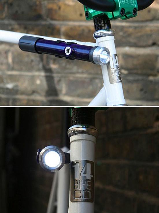 Mon cycles regor demi-course Pompe-lampe-fixie-puyl