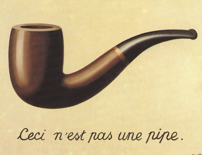 chronique de la connerie ordinaire MagrittePipe