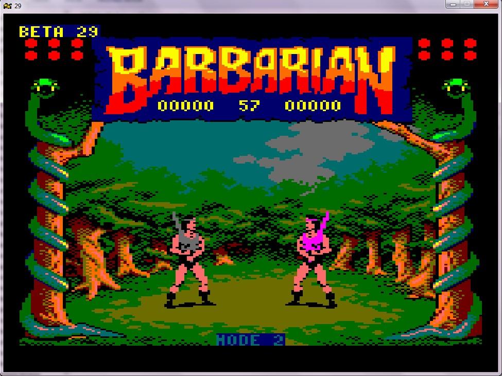 [terminé ] Barbarian sur PC engine (hucards envoyées) Pcengine