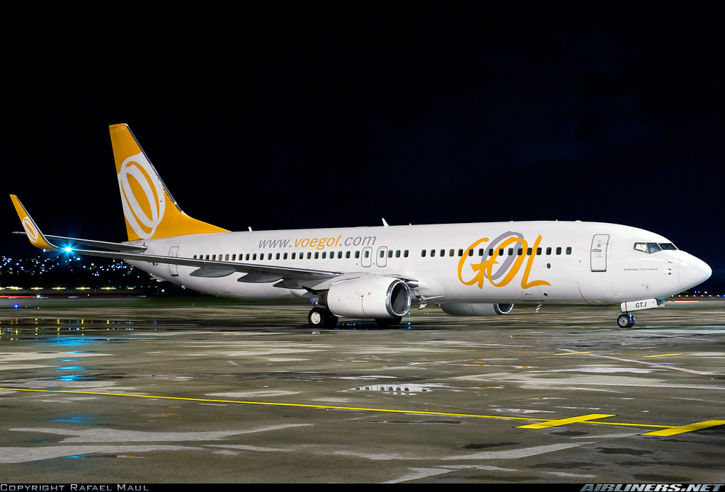 Poste a Foto de Sua Aeronave Favorita Gol-boeing-737-8007