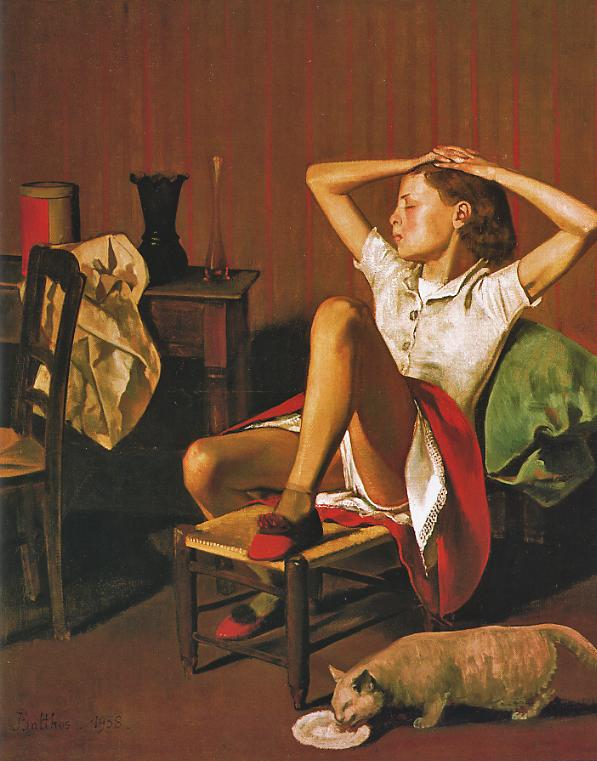 Tableaux de peintres Balthus-Th%C3%A9r%C3%A8se-r%C3%AAvant-1938