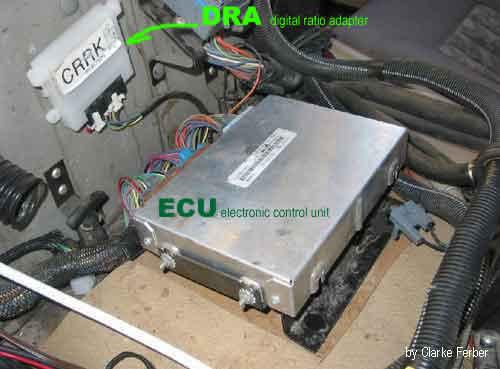 Hummer H1 en panne ! Seulement la 1 ére qui passe et le compteur qui ne fonctionne plus ECU-and-DRA