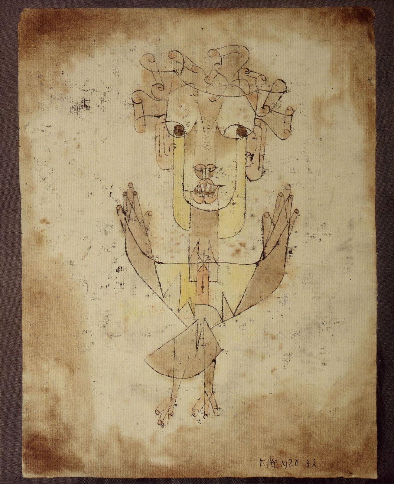 Bruno Arpaia [Italie] Paul-klee-angelus-novus