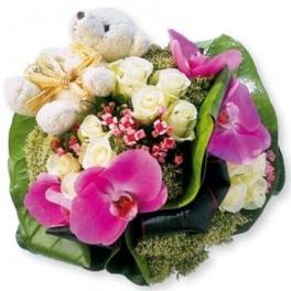 bonne fête Martine Composition-bouquet-fleurs-original-fete-des-meres-livraison-bouguenais-nantes-orchidee-fleurs-exotiques