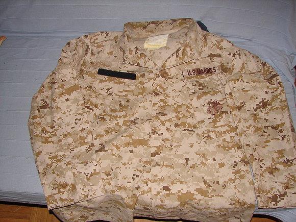 uniforme marpat desert 55
