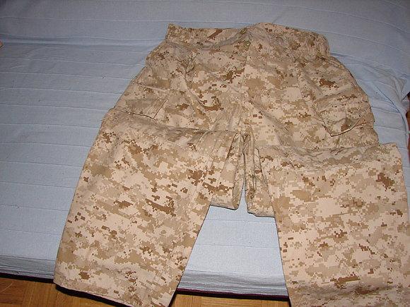 uniforme marpat desert 56