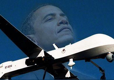 Obama admet enfin l'emploi de drones d'attaque au Pakistan et en Afghanistan  Obama-Drones