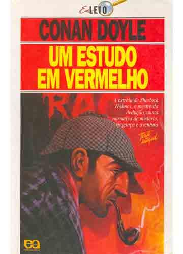 Um Estudo Vermelho - Arthur Conan Doyle Um-estudo-em-vermelho
