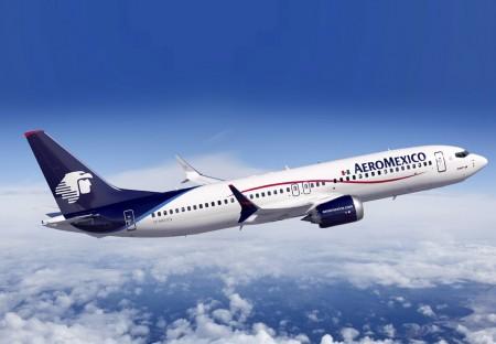 Boeing 737 ( avión de reacción de pasajeros de fuselaje estrecho de corto a medio alcance USA ) AMX-MAX8-02-450x312