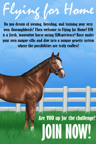 Flying for Home ; Horse Racing SIM FFHAd