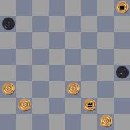 Задачи в двухходовые шашки 15771383012