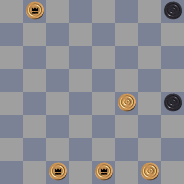 Задачи в двухходовые шашки 15793341152