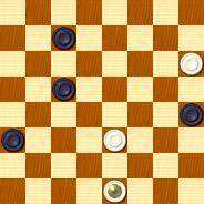 2-й чемпионат России по решению шашечных позиций, 2005 год  16181411216